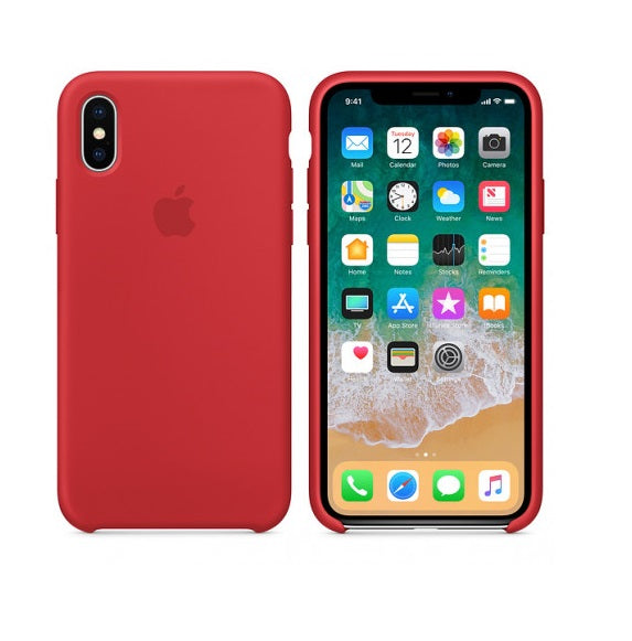 Carcasa Case iPhone X Xs 10 Silicona Protector Apple - Una Ganga Uy