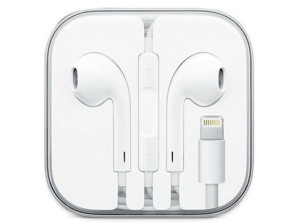 Auriculares Earpods Lightning Manos Libres iPhone Compatible - Una Ganga Uy