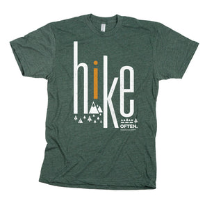Hike Often T-shirt | Apparel for Hikers | The Social Dept.