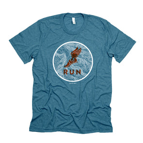 Run / Topo Map