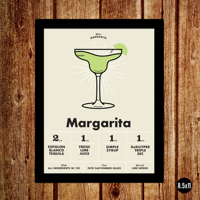 Margarita: The Cocktail Poster