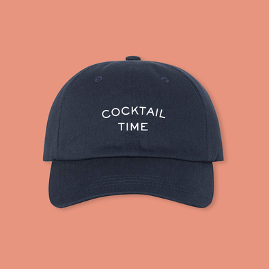 Cocktail Time / Dad Hat
