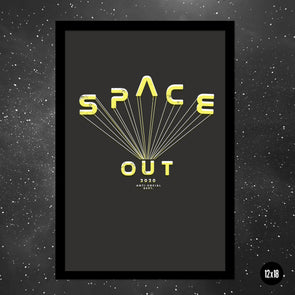 SPACE OUT Poster