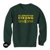 St. Sebastian Strong / Kids Crewneck Sweatshirt