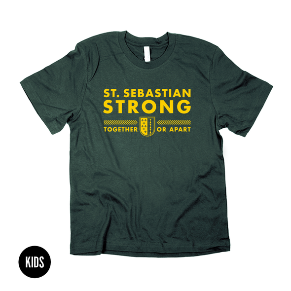 St. Sebastian Strong  |  Kids T-shirt