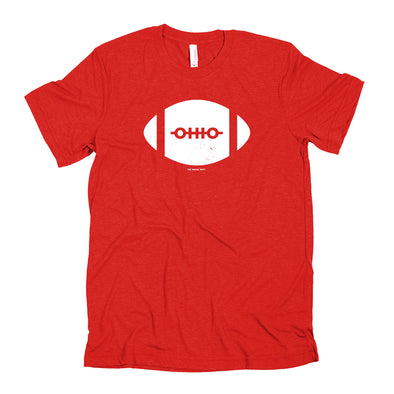 Ohio Football Laces / Red