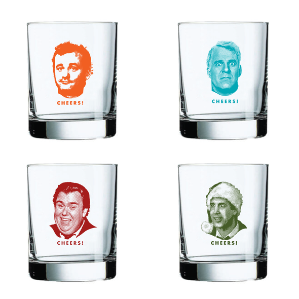 Heroes of Comedy Cocktail Set