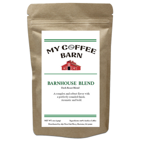 My Coffee Barn - Barnhouse Blend - Dark Roast - pupville