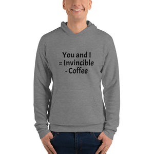 Invincible coffee! Unisex hoodie - pupville