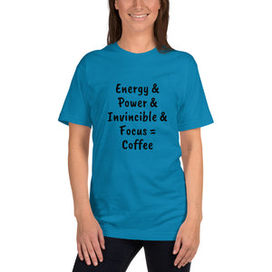 The true meaning of Coffee!! Men's and Women's 100% cotton t-shirt - pupville