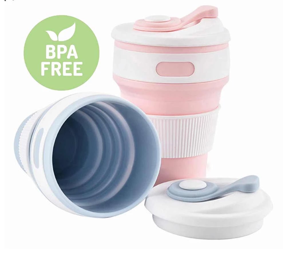 Hot New Folding Silicone Portable BPA free Silicone Telescopic Drinking Collapsible Coffee Cup!! - pupville