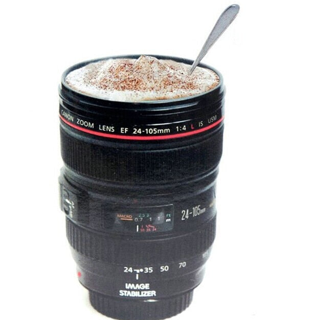Coffee Lens Emulation Camera Mug - pupville