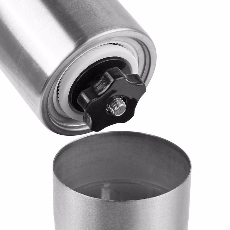Stainless Steel Manual Coffee Grinder - pupville