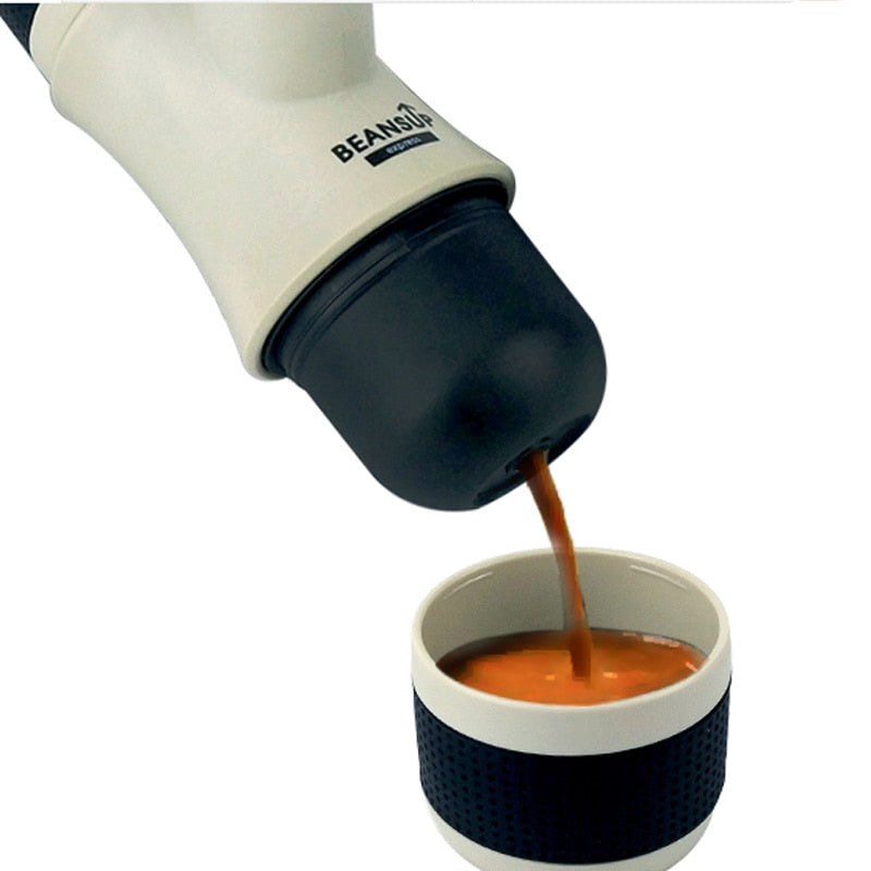 Mini Portable Coffee machine Small Italian concentrate Hand pressure Coffee machine - pupville