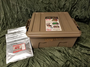 Starter Kit! Get 6 Free Breakfast Oatmeals and An Ammo Crate