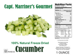FREEZE DRIED CUCUMBERS