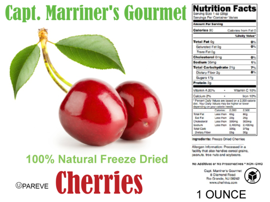 FREEZE DRIED CHERRIES