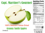 FREEZE DRIED SLICED GRANNY SMITH APPLES