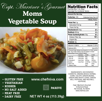 MOMS VEGETABLE SOUP