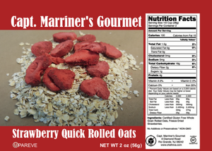 STRAWBERRY QUICK ROLLED OATS