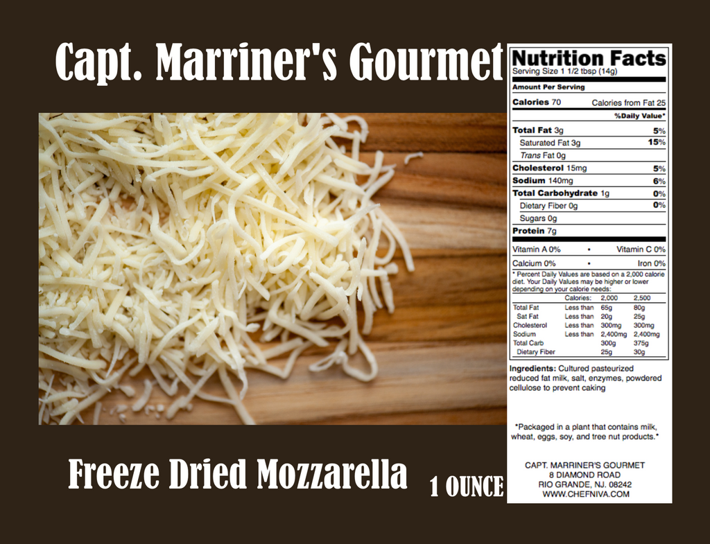 Freeze Dried Mozzarella