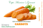 DEHYDRATED SLICED CARROTS 4 Ounces