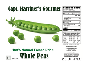 FREEZE DRIED PEAS