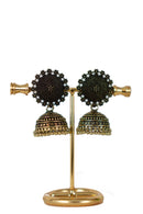 """Fouzia"" Bronze Jhumka Earrings"