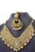 """Aishwarya"" White Kundan Necklace Set"