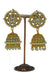 """Meetha"" Gold Jhumka Earrings"