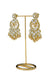 """Fatima"" Gold Kunan Earrings"