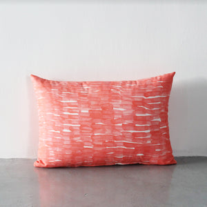 Ponder Block Cushion (Orange)