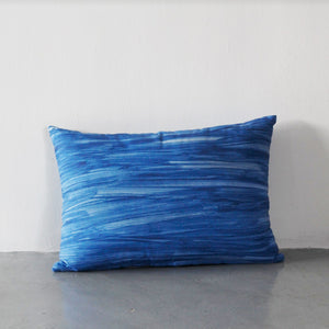 Journey Block Cushion Blue (Ready Stock)