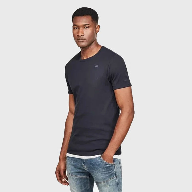 DAZZLE EXCLUSIVE G-STAR BASIC TEE (MAZARINE BLUE)