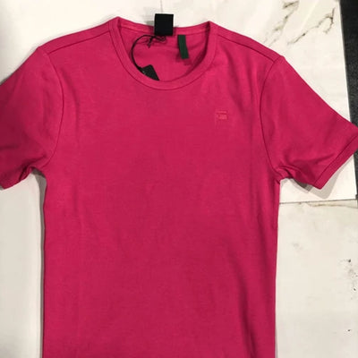 DAZZLE EXCLUSIVE G-STAR BASIC TEE (BRIGHT REBEL PINK)