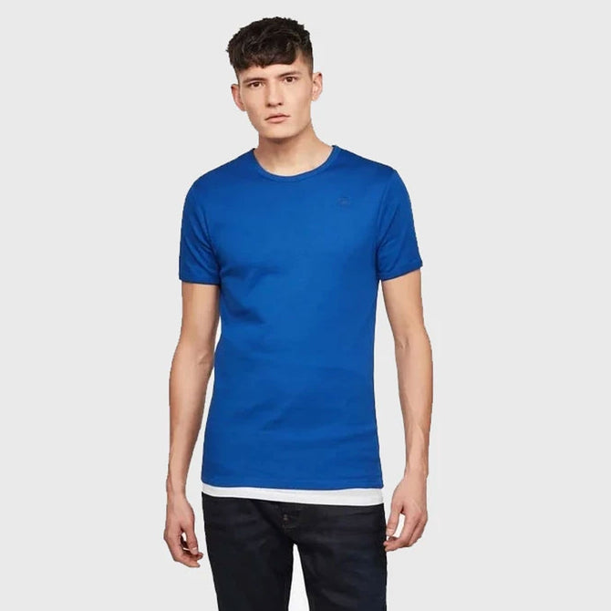 DAZZLE EXCLUSIVE G-STAR BASIC TEE (RACING BLUE)