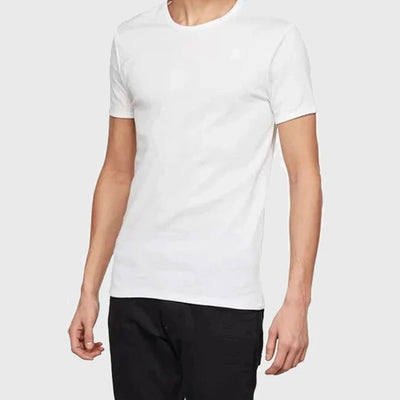 DAZZLE EXCLUSIVE G-STAR BASIC TEE (White)