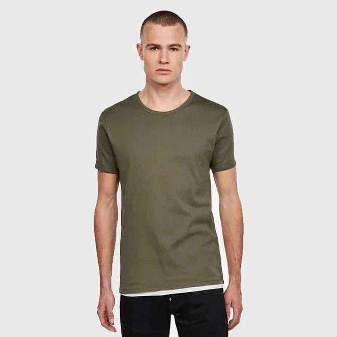 DAZZLE EXCLUSIVE G-STAR BASIC TEE (WILD ROVIC)