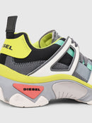 Diesel Sneakers in mesh and leather