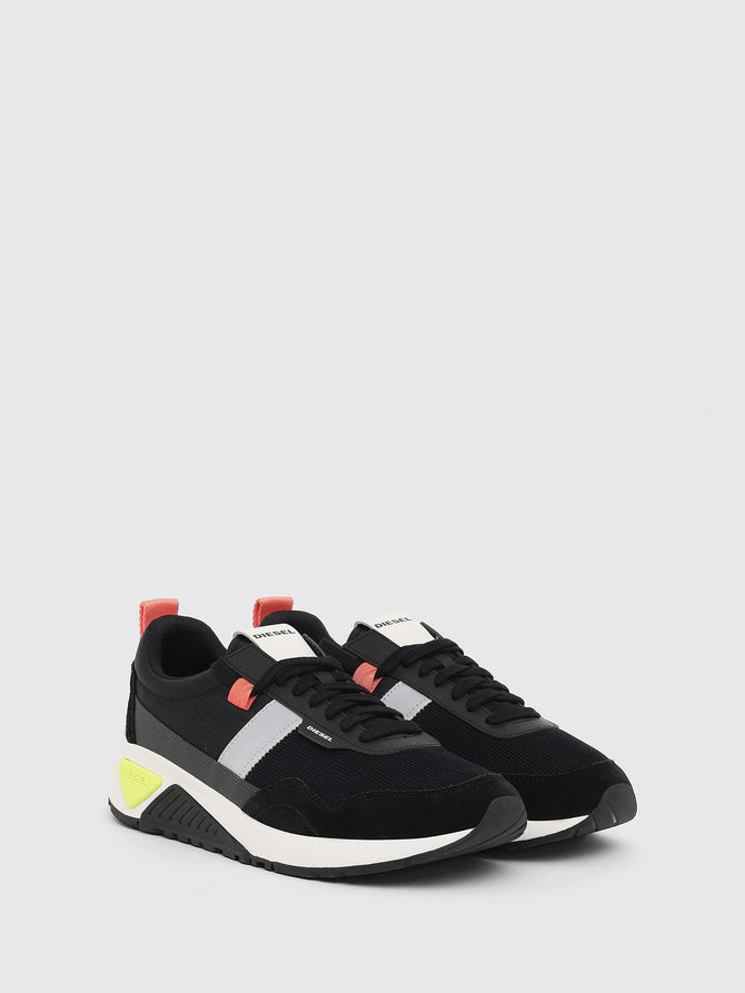 Diesel Sneakers in ripstop nylon and suede