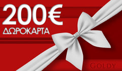 200 € Goldy Gift Card - Goldy Jewelry Store
