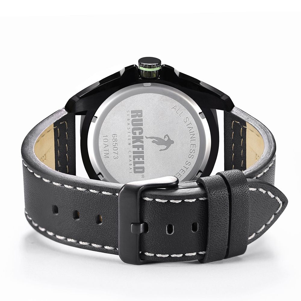 Ruckfield 685073 Black Leather Strap