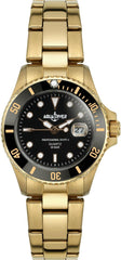AQUADIVER 74024596 Water Master Gold Stainless Steel Bracelet