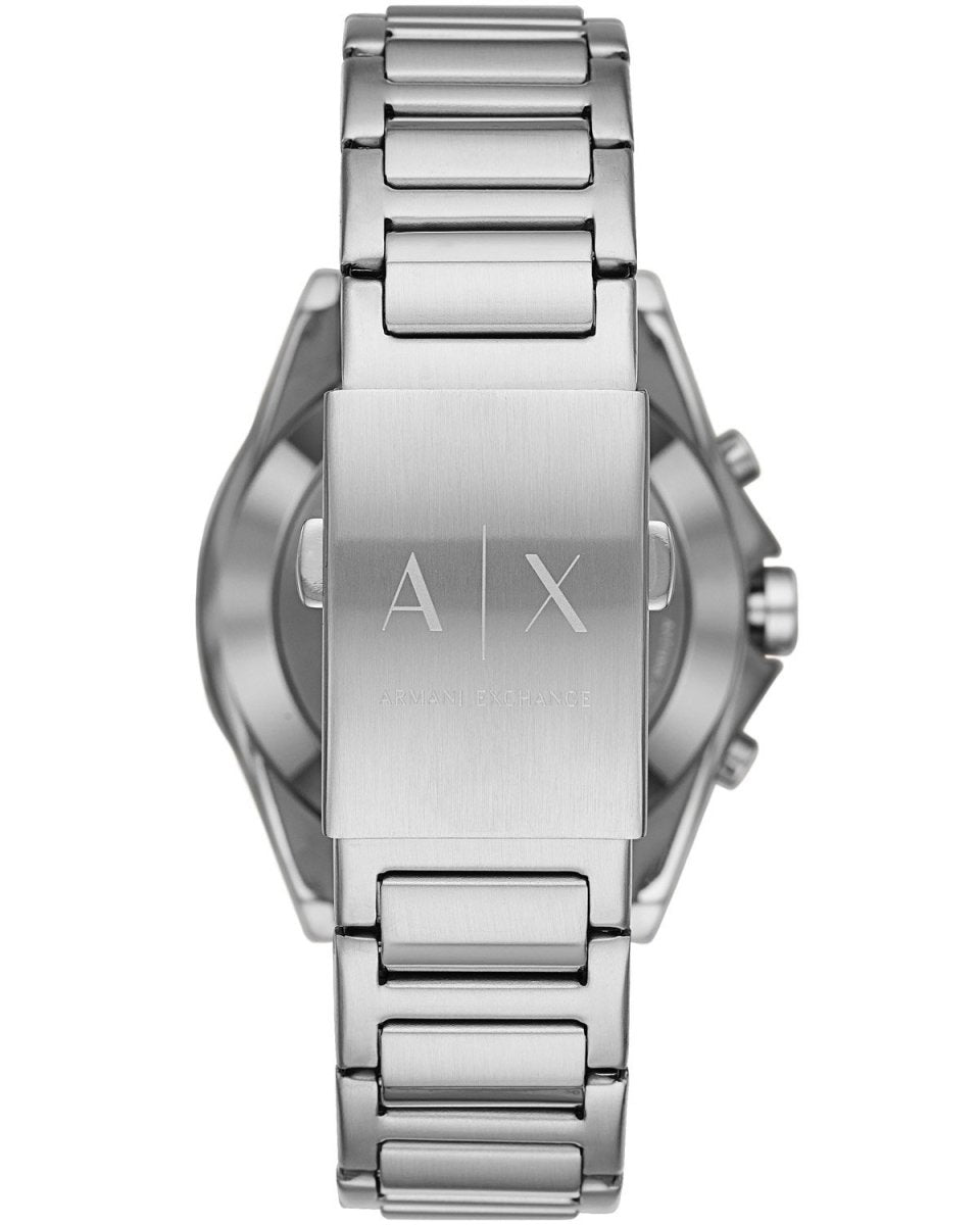 Armani Exchange AXT1006 Connected Hybrid Silver Stainless Steel Bracelet - Κοσμηματοπωλείο Goldy