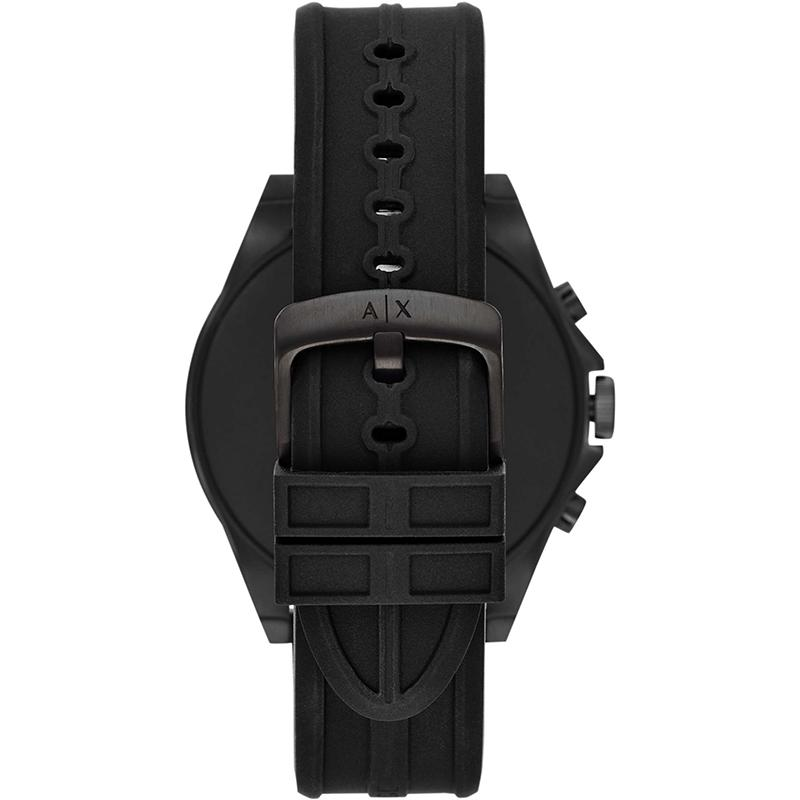 Armani Exchange AXT2007 Bluetooth Smartwatch Black Rubber Strap - Κοσμηματοπωλείο Goldy