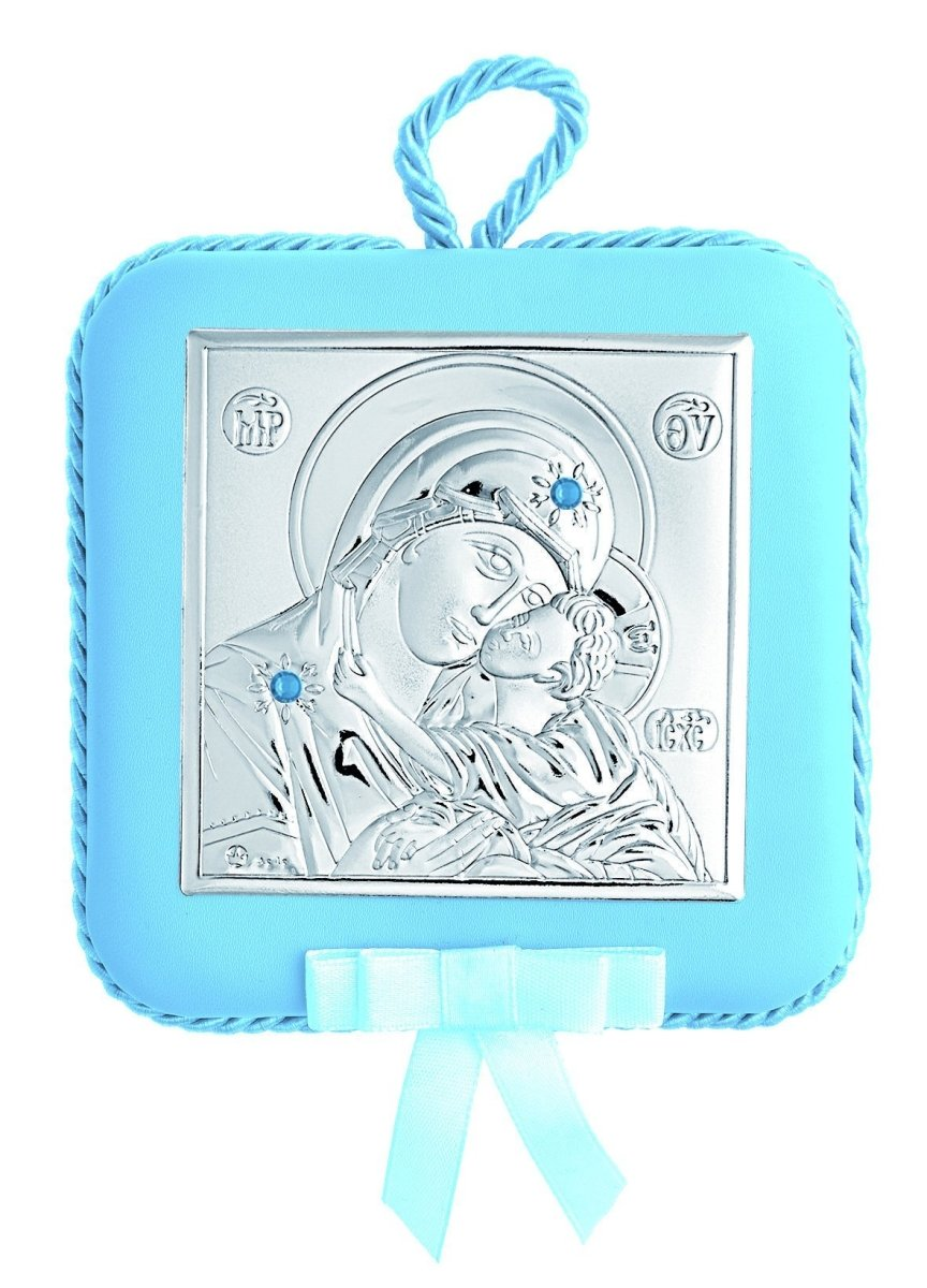 Silver Amulet MA / DM605-LC With Music for Newborn Baby - Goldy Jewelry Store