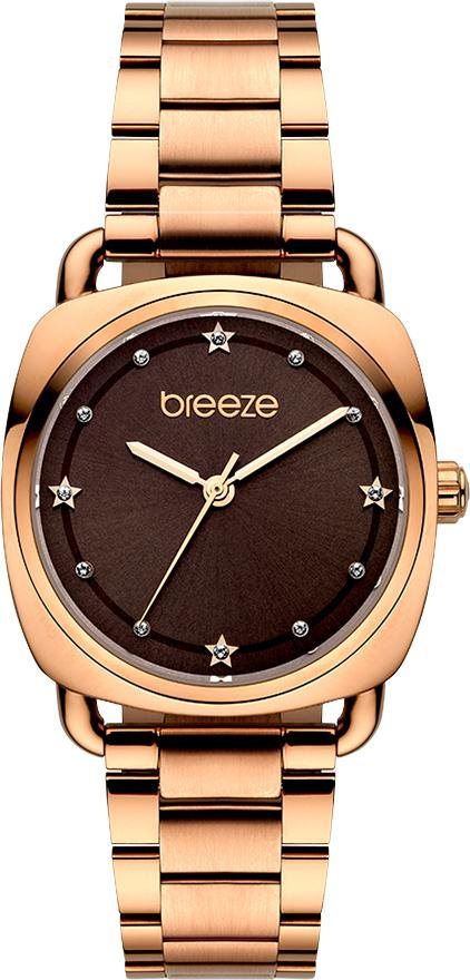 BREEZE 212071.6 Musette Rose Gold Stainless Steel Bracelet - Κοσμηματοπωλείο Goldy