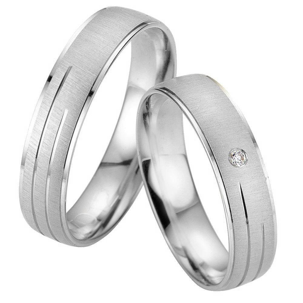 Breuning Smart Line 7011-7012 Gold Wedding Rings - Goldy Jewelry Store