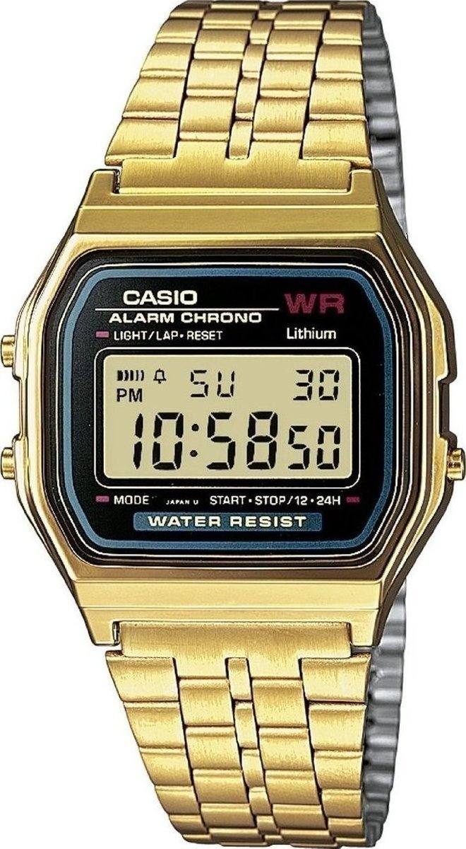 CASIO A-159WGEA-1EF Vintage Gold Stainless Steel Watch - Jewelry Goldy