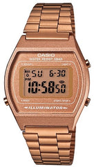 CASIO B-640WC-5A Vintage Rose Gold Stainless Steel Watch - Κοσμηματοπωλείο Goldy